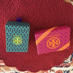 Tory Burch jewelry gift boxes